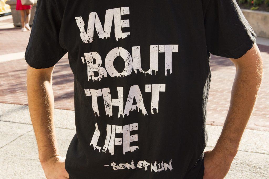 Protest tee shirt for Black Lives Matter