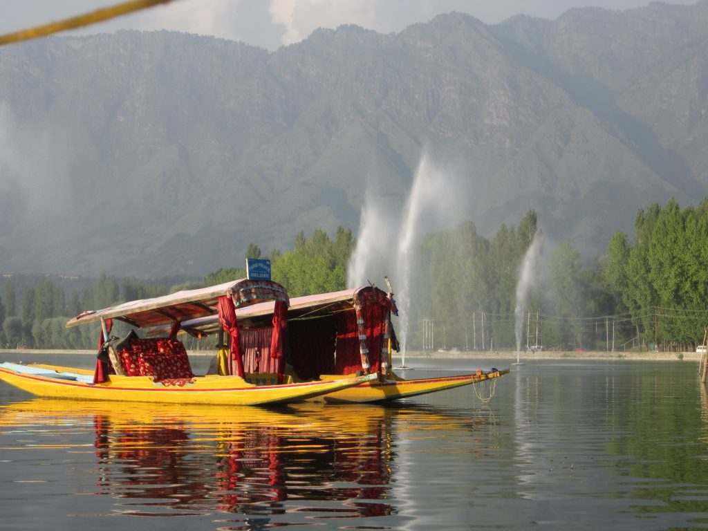 Shikara on Dal Lake, Srinagar. Photo: Manali Shah