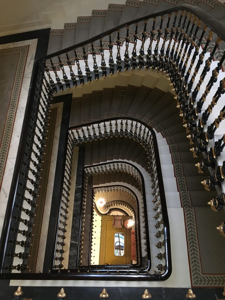 Avenida staircase. Photo: Manali Shah