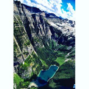 Glacier Aerial. Photo: Ali Wunderman