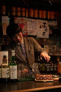 Golden-Gai-bartender. Photo by Trixie Pacis