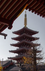 Pagoda in Tokyo. Photo: Trixie Pacis