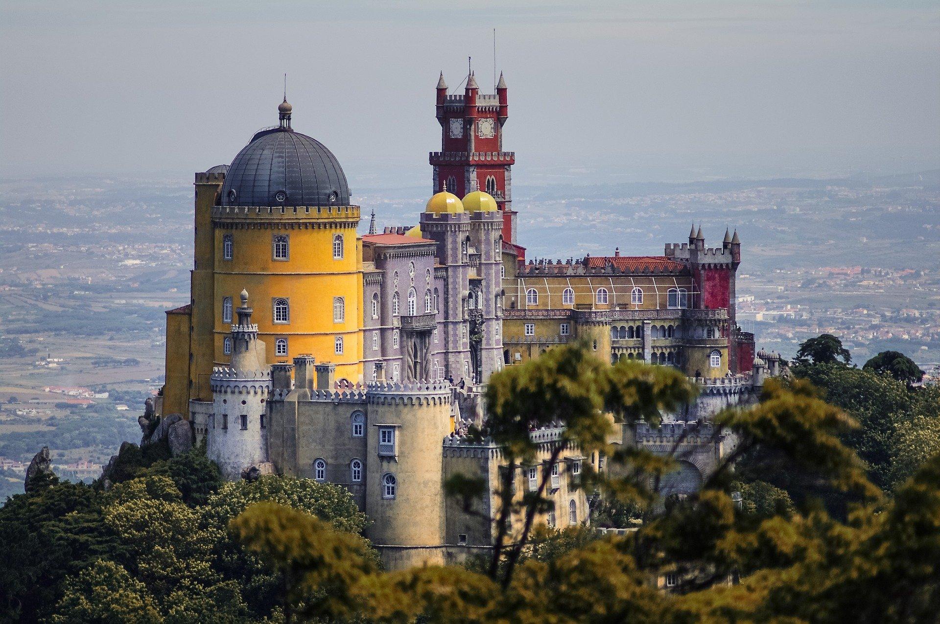 Pena Palace.Portugal.Sintra