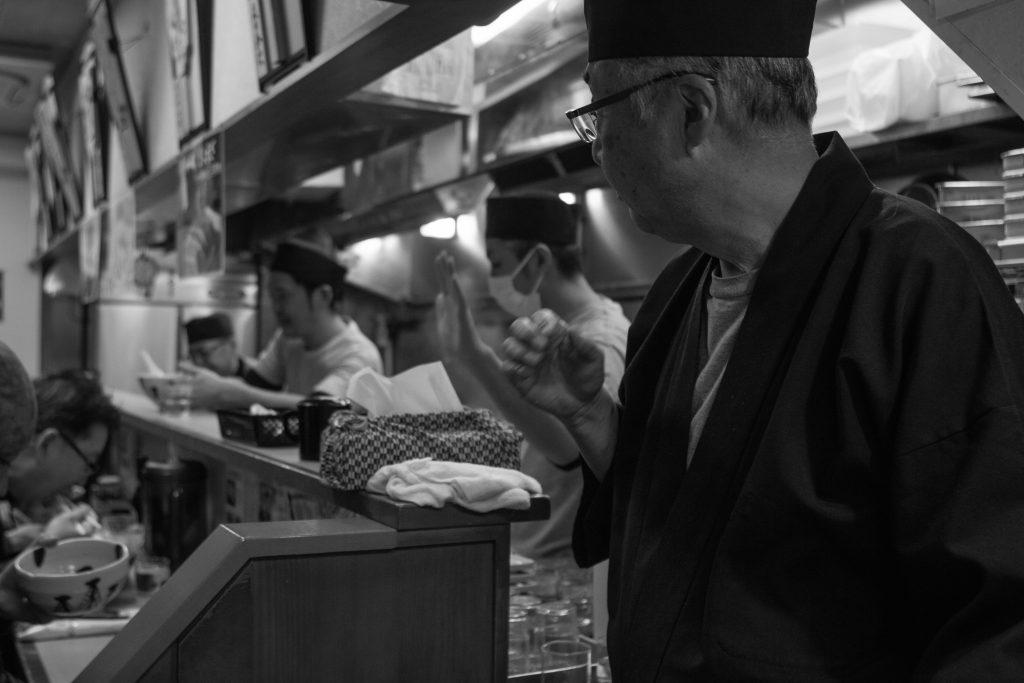 Ramen bar in Tokyo. Photo: Trixie Pacis