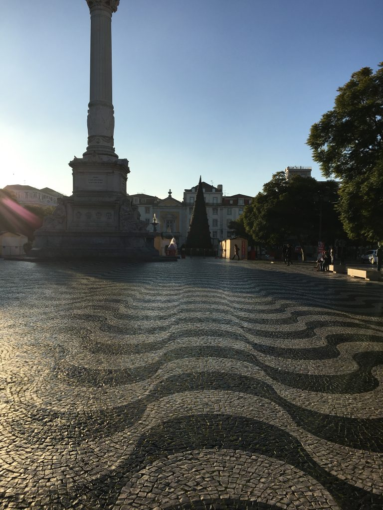 Rossio Square. Photo: Manali Shah