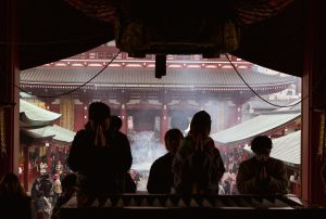 Temple in Tokyo. Photo by Trixie Pacis