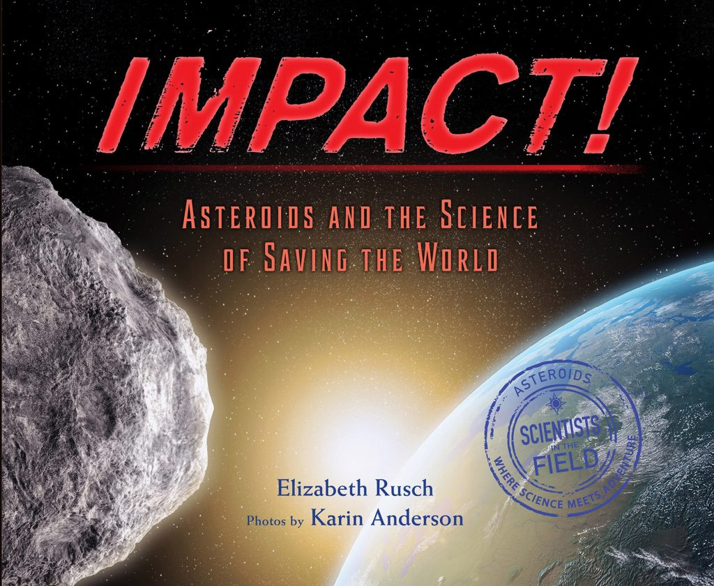 Impact! book cover. Author Elizabeth Rusch