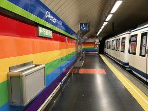 Chueca station in Madrid