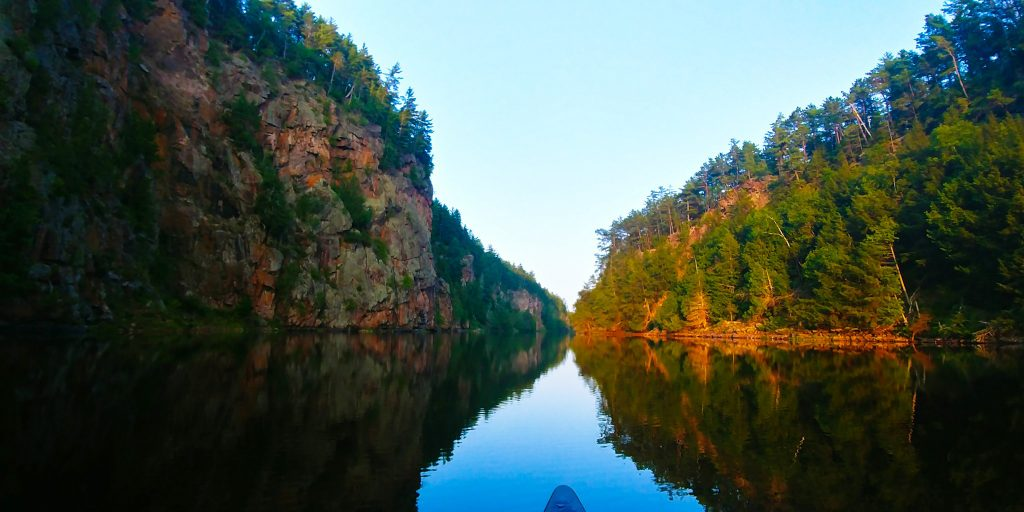 Canoe Camping. Photo: Nikki Gillingham