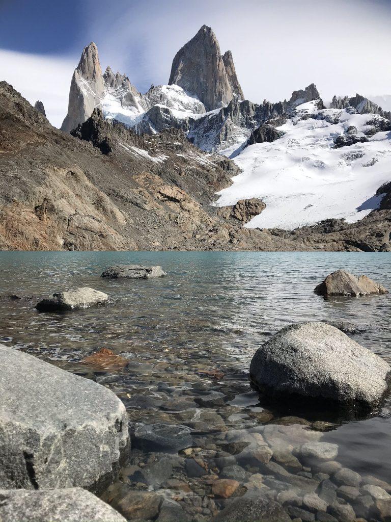 View of Mount Fitz Roy from Laguna de los Tres, El Chalten. Photo: Devon Older