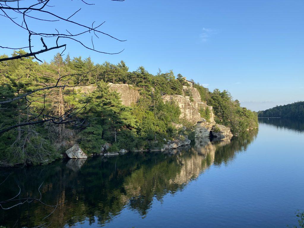 NY Lake Minnewaska. Photo: Terri Marshall