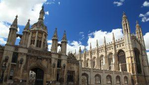Cambridge University in England