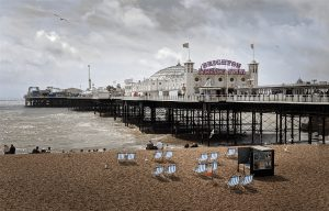 Brighton Pier in England