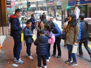 Hong Kong family on travel