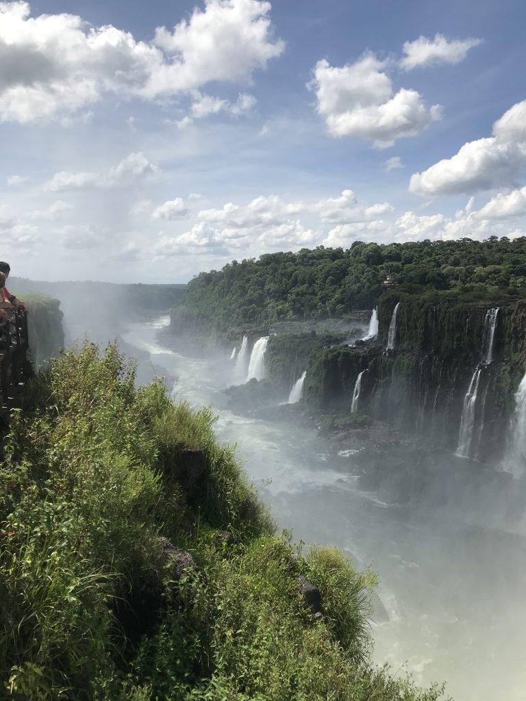 Argentina side of Iguazu Falls. Photo: Devon Older