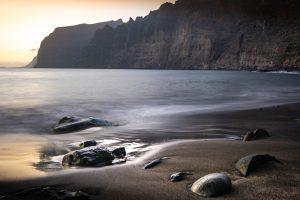 Black-beach-on-Tenerife