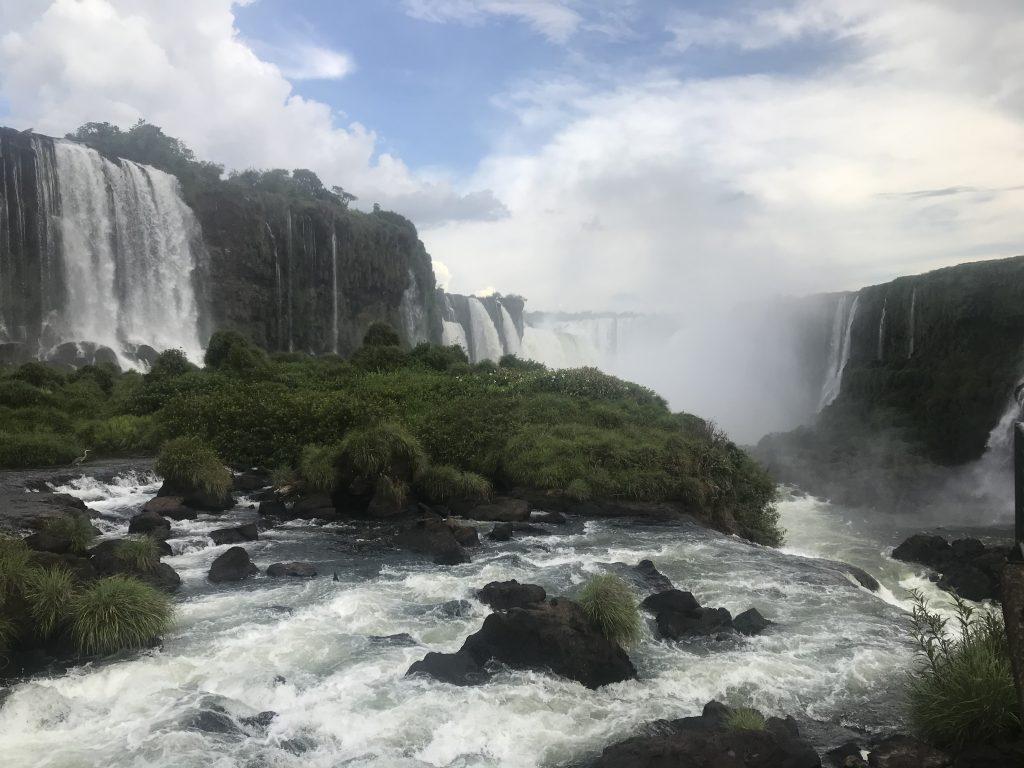 Brazilian side of Iguazu Falls. Photo: Devon Older