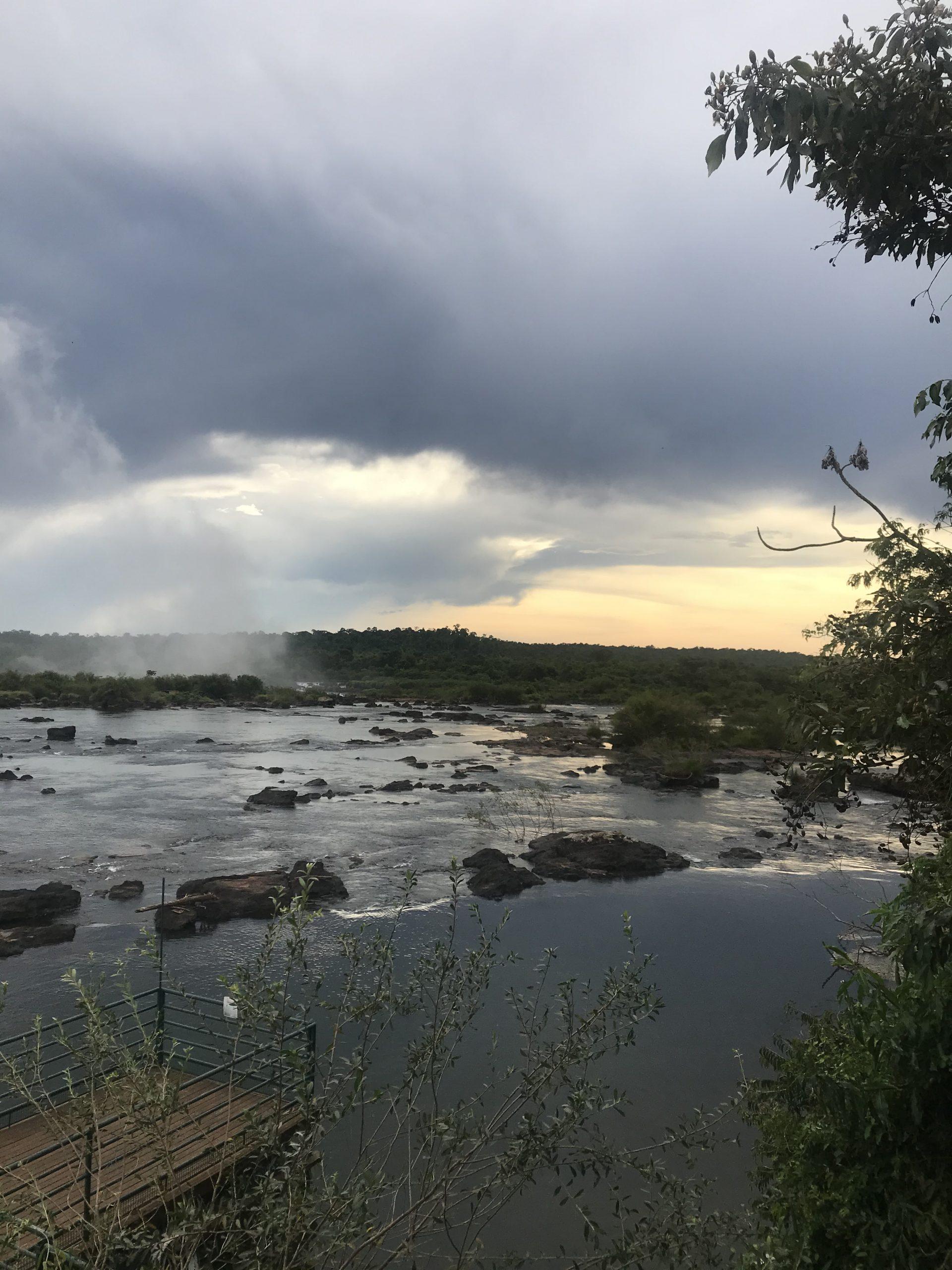 Iguazu River Brazilian side. Photo: Devon Older
