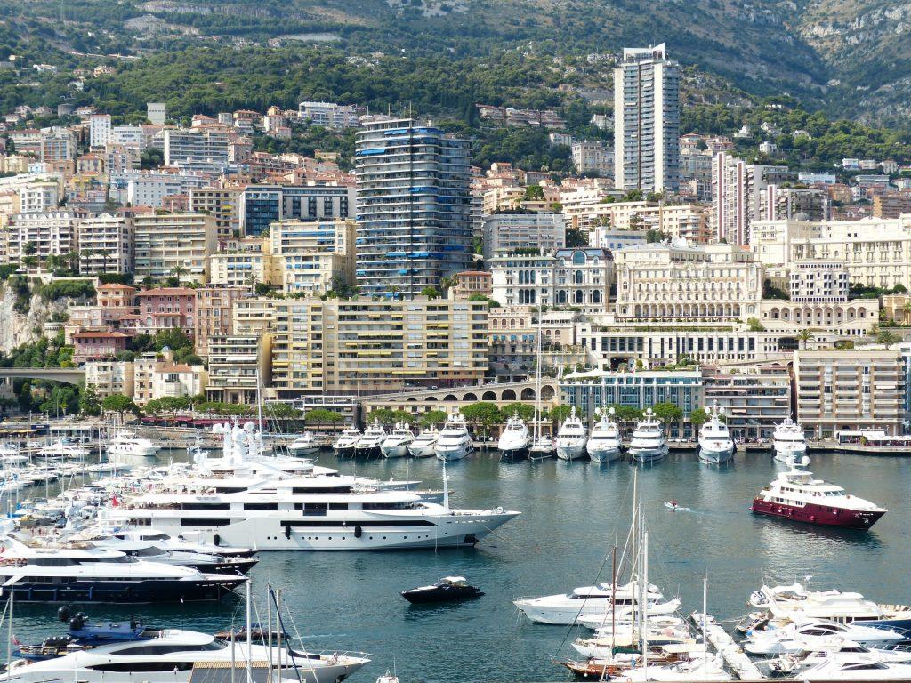 Monaco city port