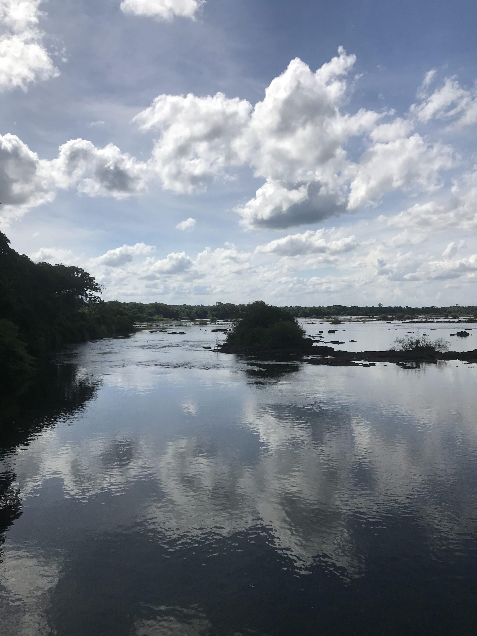 Rio Iguazu Argentina side. Photo: Devon Older