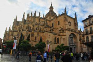 Santa Iglesia Catedral de Nuestra Senora de la Asuncion y de San Frutos Photo: Tania Banerjee