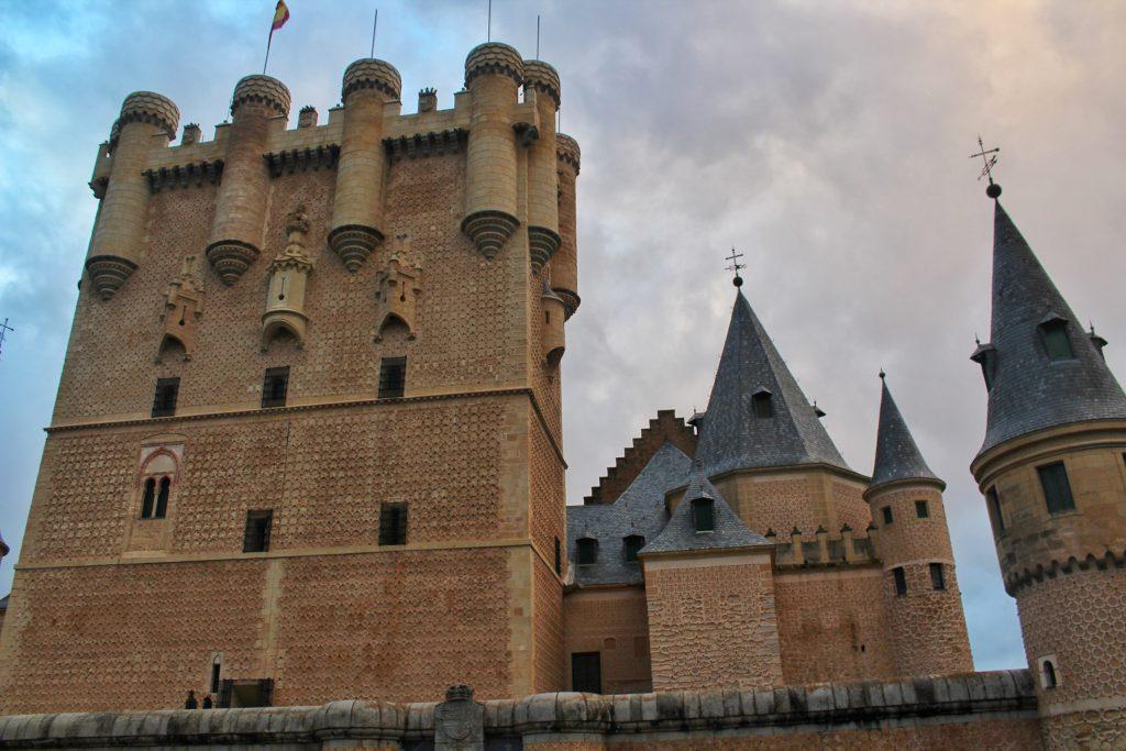 The Alcazar of Segovia captured from its entry point. Photo: Tania Banerjee