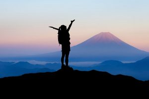 Reaching success on a mountaintop with mental dynamite