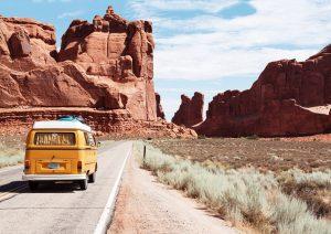 arches-national-park-Camper-Van