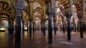 Inside Mezquita Cathedral