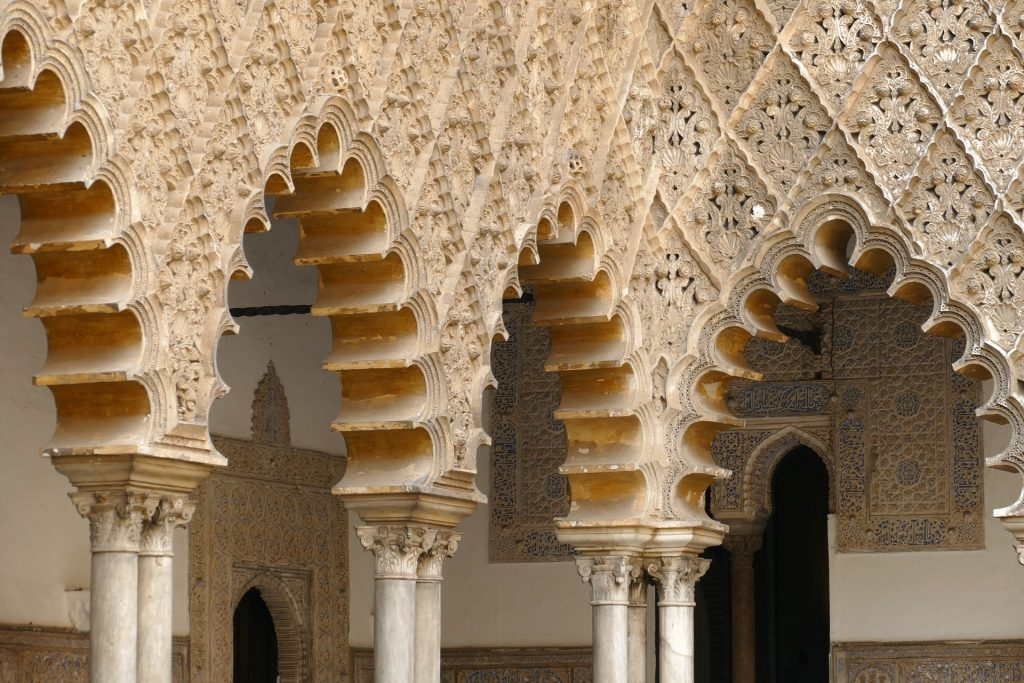 The Real Alcazar architecture