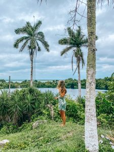 Escaping the storm in Bacalar. Photo: Kellie Paxian