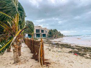 Hurricane looming in Isla Mujeres. Photo: Kellie Paxian