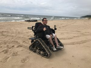 Cory Lee on beach