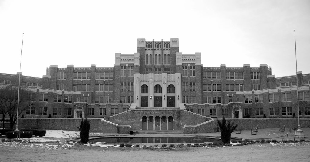 """""""Little Rock Central High School"""" by Steve Snodgrass is licensed under CC BY 2.0"""