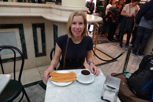 Photo of Janice taken in Madrid, Spain