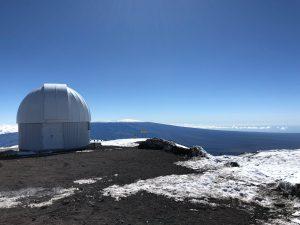 Mauna Loa in the background