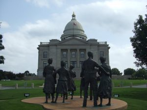 """""""The Little Rock Nine who fought for the right to non-segregated education"""" by Haydn Blackey is licensed under CC BY-SA 2.0"""