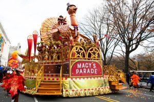 Macys Parade. Credit: Getty