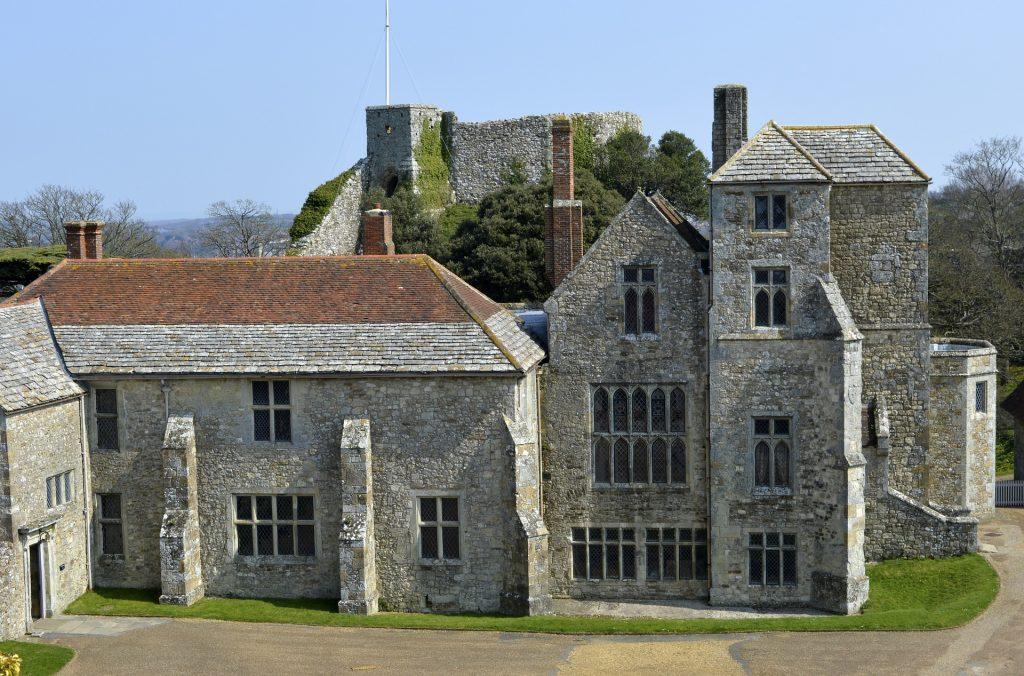 Carisbrook Castle on the Isle of Wight
