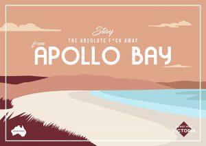 Apollo Bay postcard. Credit: Guillermo Carvajal and Jess Wheeler
