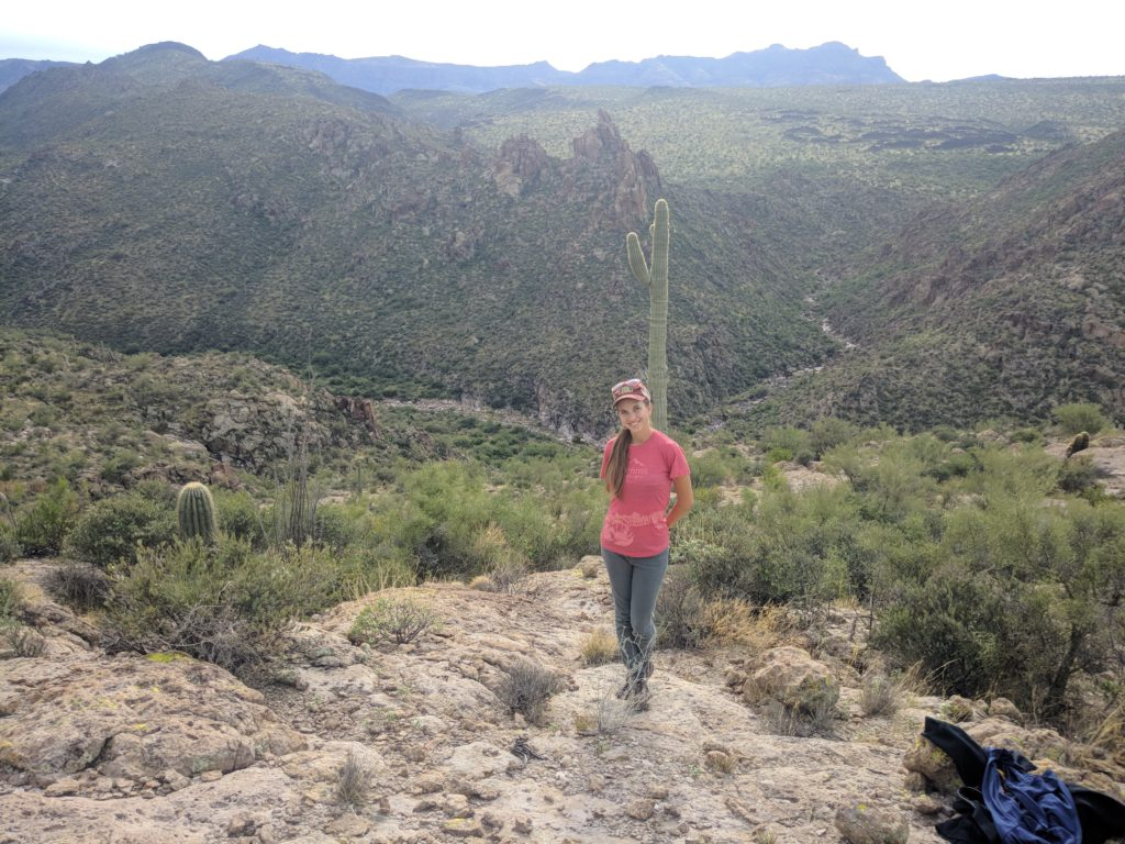 Author Breana Johnson in Superstitions