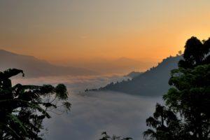 Sunrise over the Himalayas. Photo: Carol Ketelson