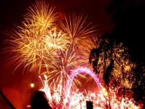 fireworks-London New Years Eve