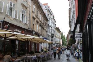 Ljubljana city center. Photo: Trixie Pacis