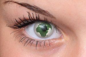 Insight - globe on eye
