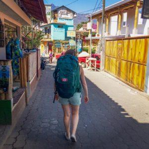 Wandering around San Pedro la Laguna, Lake Atitlan. Photo: Natasha Tucker