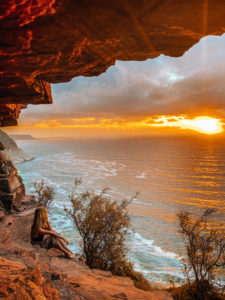 South Africa - Secret cave in Cape Town