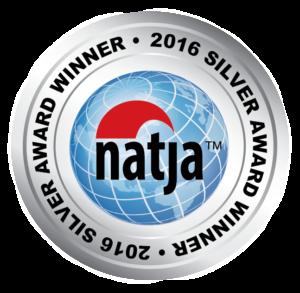 2016 NATJA Awards Silver Winner Seal
