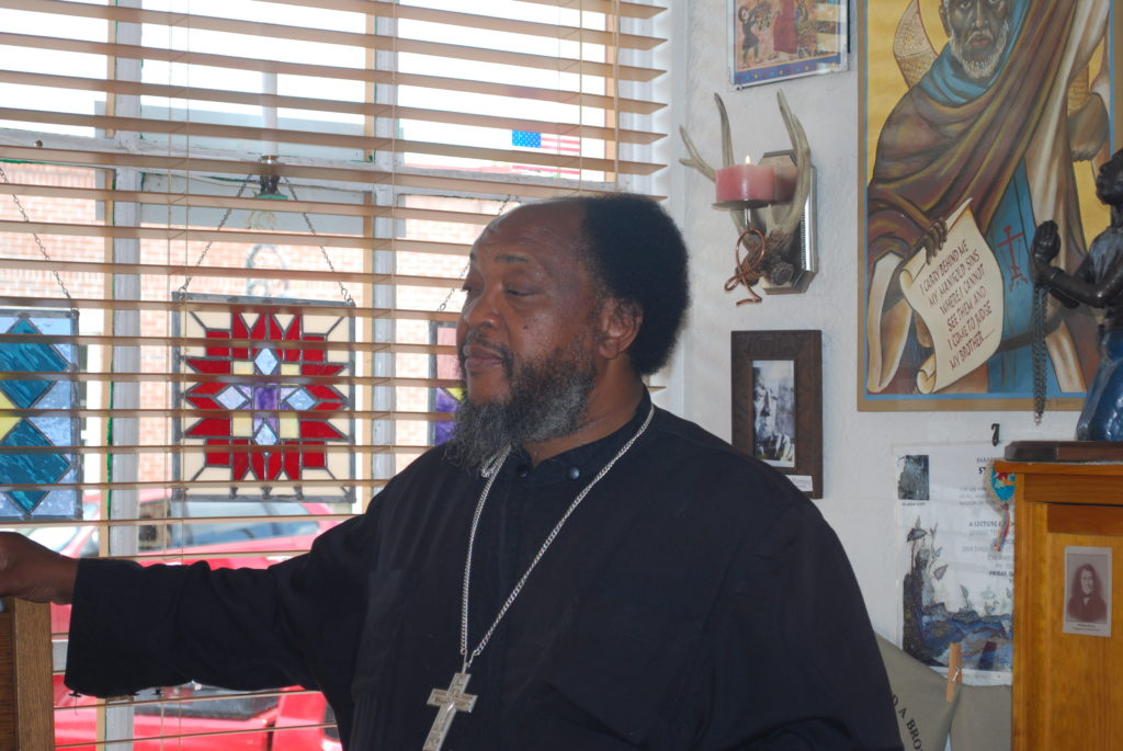 Photo of Fr. Moses Berry. Photo: Tonya Fitzpatrick