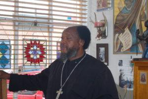 Photo of Fr. Moses Berry. Photo: Tonya Fitzpatrick